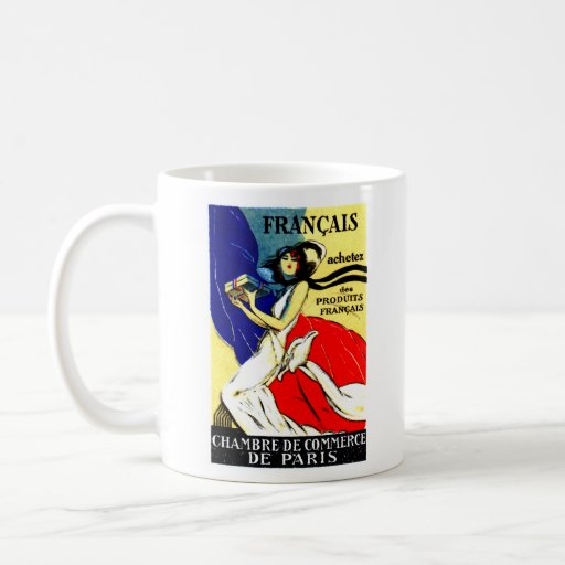 1920 Buy French Products Poster Mugs