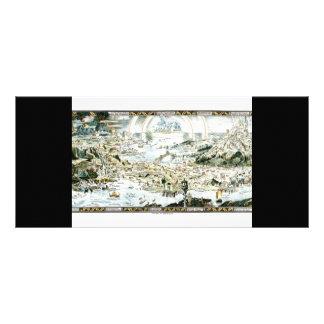 1920 Classic Fairyland Imaginary Map Rack Card