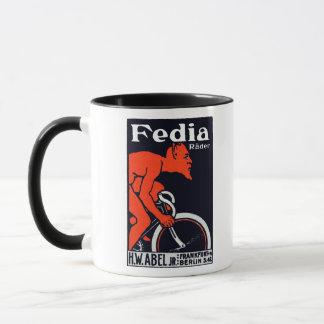 1920 Devil Riding a Bicycle Mug