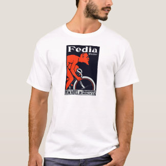 1920 Devil Riding a Bicycle T-Shirt