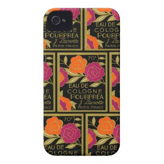 1920 Eau de Cologne Pourprea perfume iPhone 4 Case-Mate Case