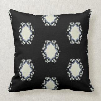 1920 fan cutwork throw pillow