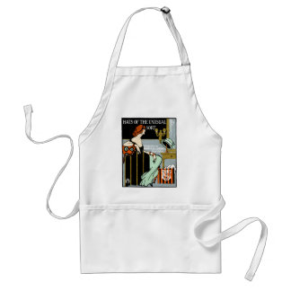 1920 Fashion Poster Adult Apron