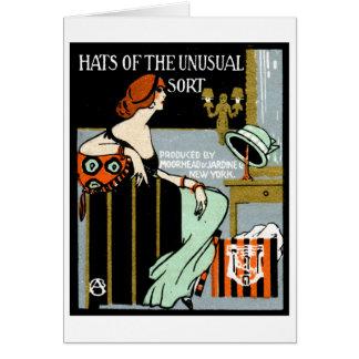 1920 Fashion Poster Card