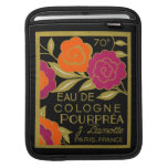 1920 French Eau de Cologne Pourprea perfume Sleeves For iPads