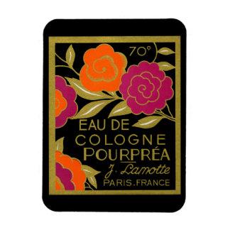 1920 French Eau de Cologne Pourprea perfume Magnet