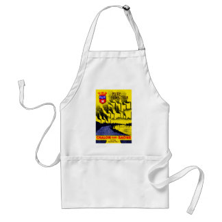 1920 French Industrial Expo Adult Apron
