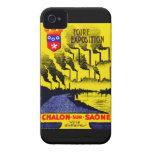 1920 French Industrial Expo iPhone 4 Case-Mate Cases