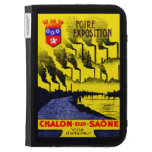 1920 French Industrial Expo Kindle Case