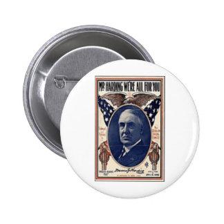 1920 Harding Buttons