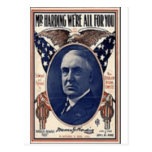 1920 Harding Postcards