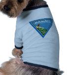1920 Hawaii, Land of Dreams Dog Tee Shirt