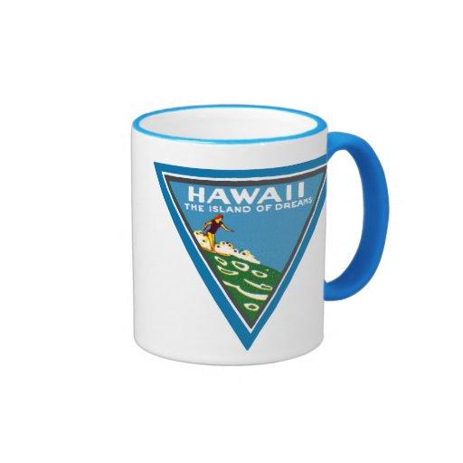 1920 Hawaii, Land of Dreams Mugs