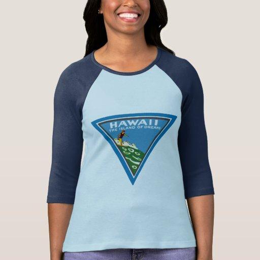 1920 Hawaii, tierra de sueños Camisetas