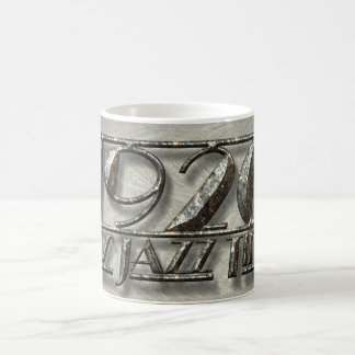 1920 It's Jazz Time Vintage Dance Music Billboard Magic Mug