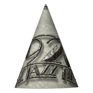 1920 It's Jazz Time Vintage Dance Music Billboard Party Hat