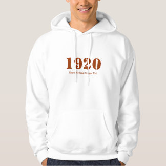 1920, Negro National League Est. Hoodie