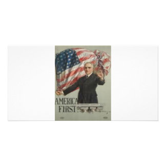 1920 Presidential Campaign Photo Card
