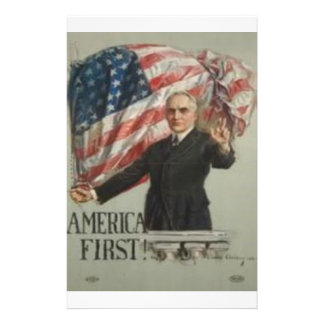1920 Presidential Campaign Stationery