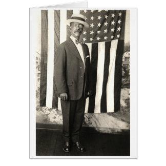 1920 Proud American Gentleman Card