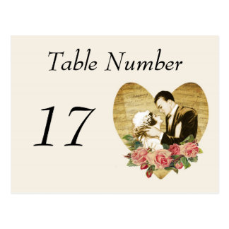 1920 s Vintage Table Number Cards Post Cards