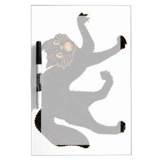 1920 Scary Black Cat Dry Erase Board