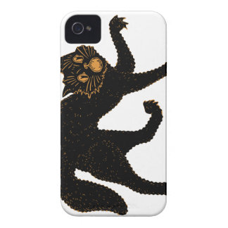 1920 Scary Black Cat iPhone 4 Cover