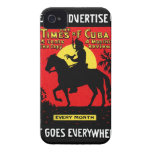 1920 The Times of Cuba iPhone 4 Case-Mate Case