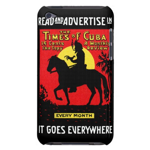 1920 The Times of Cuba iPod Touch Cases