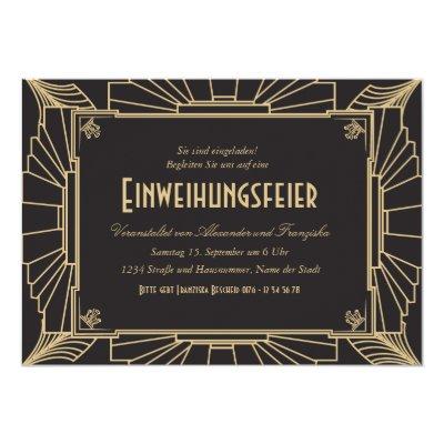 Nette Einweihungsparty Einladung Card | Zazzle.com