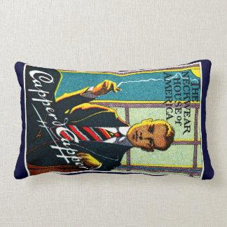 1920 Vintage Men's Ties Lumbar Pillow