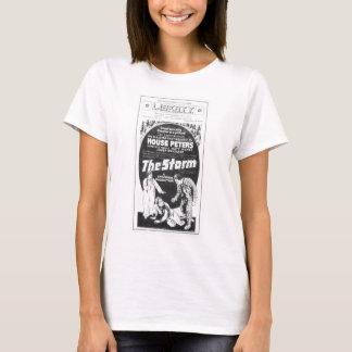 1920 vintage movie advertisement 'The Storm' T-Shirt