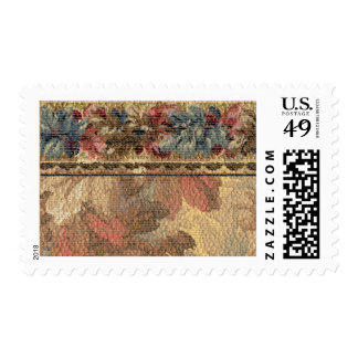 1920 Wallpaper Floral Border Card (19) Stamp