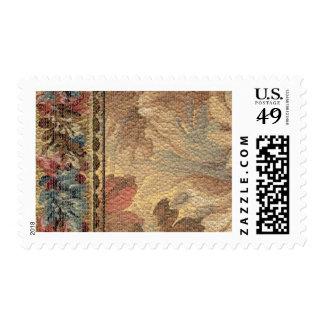1920 Wallpaper Floral Border Card (20) Postage Stamps