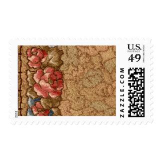 1920 Wallpaper Floral Border Card (22) Postage Stamp