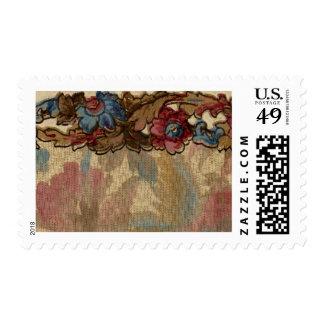 1920 Wallpaper Floral Border Card (23) Postage Stamp