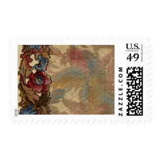 1920 Wallpaper Floral Border Card (24) Postage