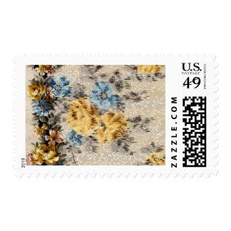 1920 Wallpaper Floral Border Card (30) Stamps