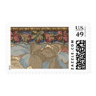 1920 Wallpaper Floral Border Card (42) Postage Stamps