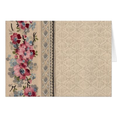 floral wallpaper border