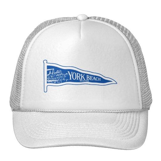 1920 York Beach Maine, light blue Trucker Hat
