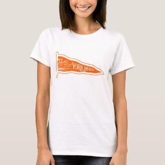 1920 York Beach Maine, orange T-Shirt