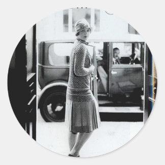 1920s2 classic round sticker