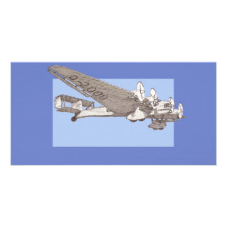 1920s Airliner Junkers G-38 Card
