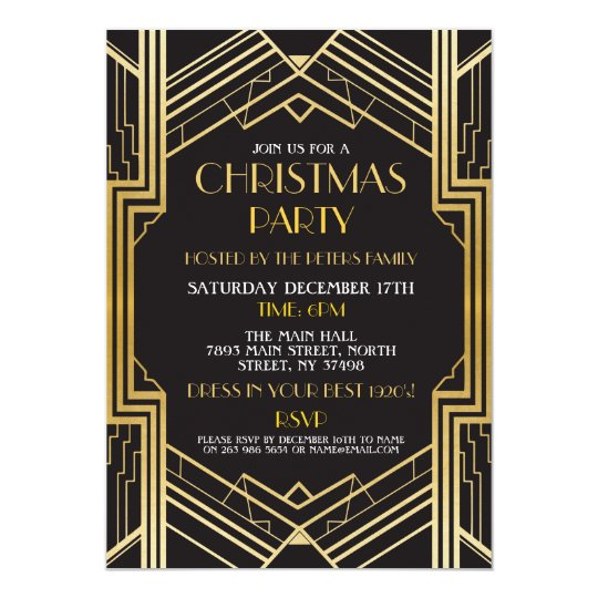 1920s Party Invitations Announcements – Gangster Party Invitations