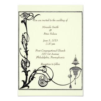 1920s Aubrey Beardsley Design Card