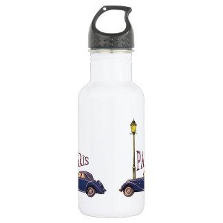 1920's Automobile - Paris Water Bottle