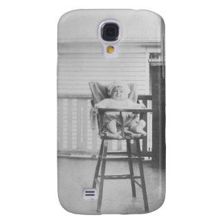 1920's Baby in Highchair Galaxy S4 Case