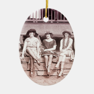 1920s Bathing Beauties Ornaments