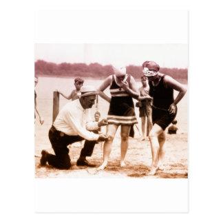 1920s Bathing Beauties Postcard